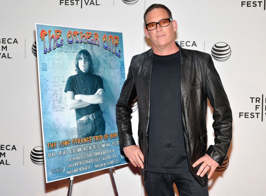 Mike Fleiss Black Leather Jacket