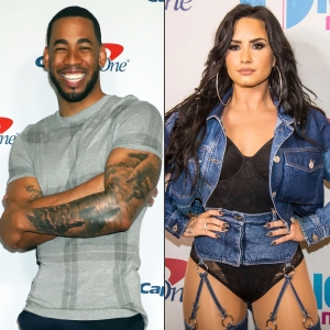 Mike Johnson Says Kissing Demi Lovato Is Incredibly Sexy
