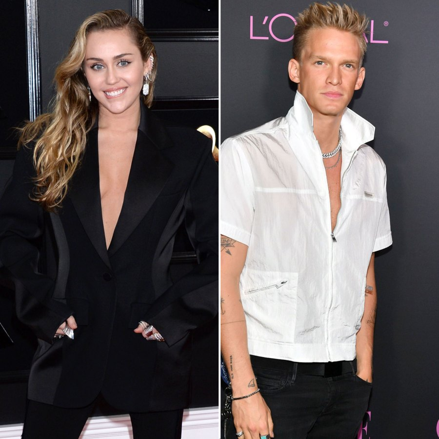 Miley Cyrus Wearing Mugler Reveals She First Kissed Boyfriend Cody Simpson Years Ago
