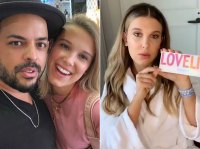 Millie Bobby Brown Hair Change Short Blonde to Extensions