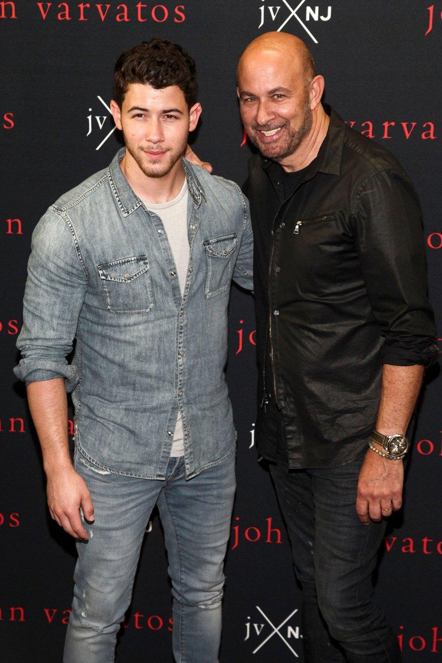 Nick Jonas and John Varvatos Launched Liquor Lines Together