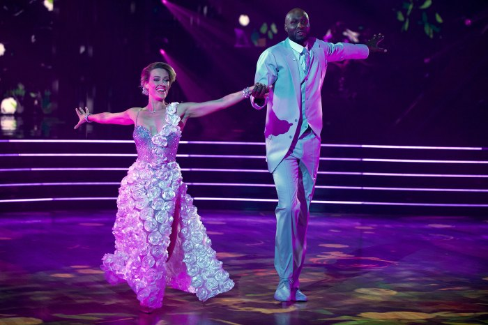 Murgatroyd and Lamar Odom Dancing With The Stars DWTS