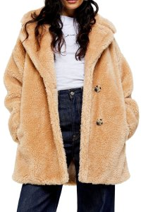 Welcome Cozy Season in Style With This Faux Fur Coat From Topshop