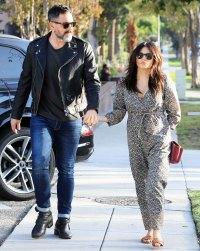 Pregnant Jenna Dewan and Steve Kazee Holding Hands in October 2019