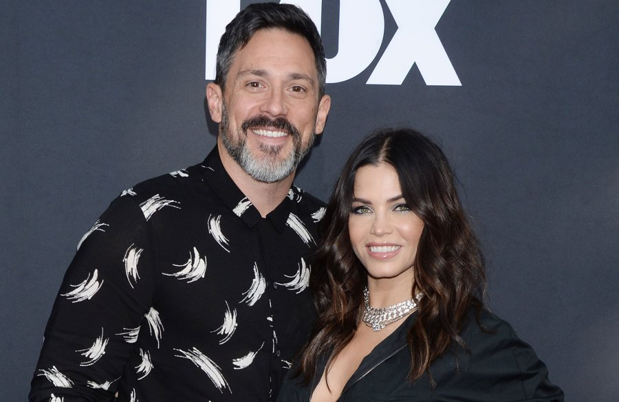 Pregnant Jenna Dewan and Steve Kazee Paint Pumpkins With Her Daughter Everly