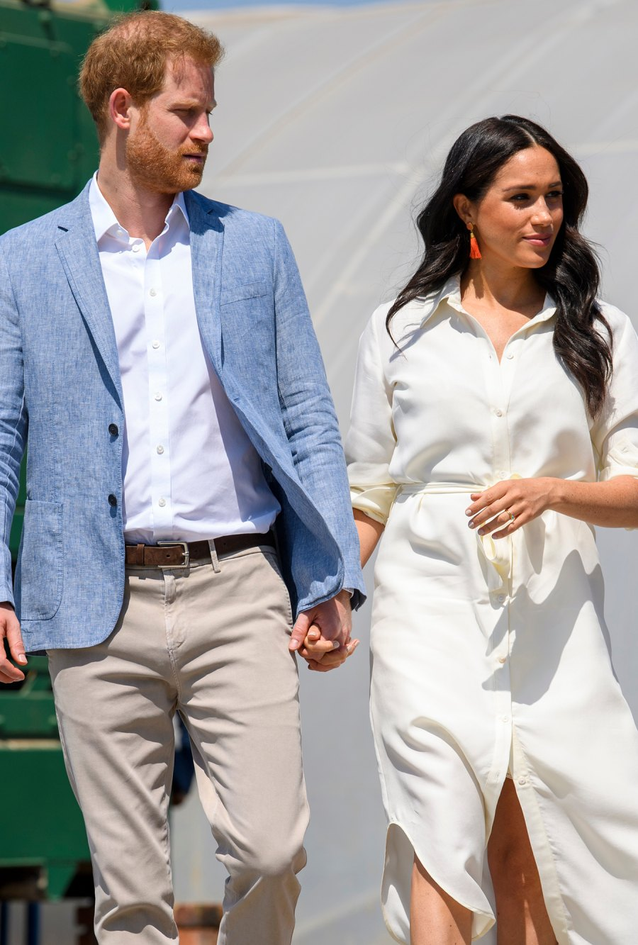 Prince Harry and Duchess Meghan Hold Hands in South Africa on Last Day of Royal Tour
