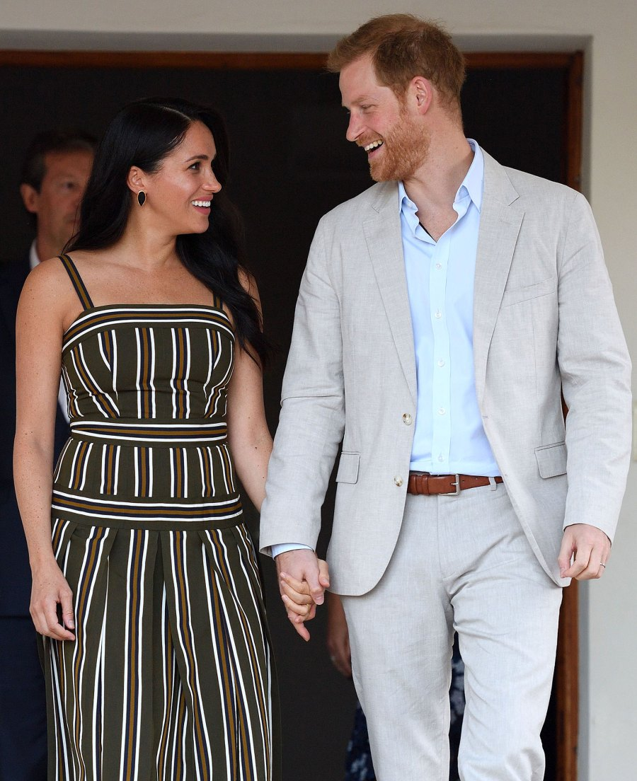 Prince Harry and Duchess Meghan Markle Candid Africa Documentary