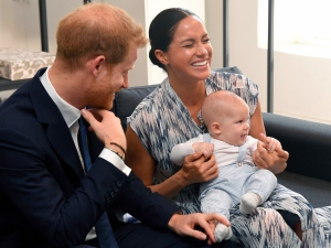 Prince Harry and Duchess Meghan Son Archie Strong Baby