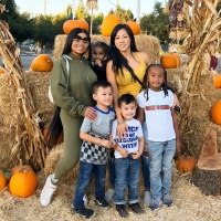Black Chyna, King and Dream at Pumpkin Patch