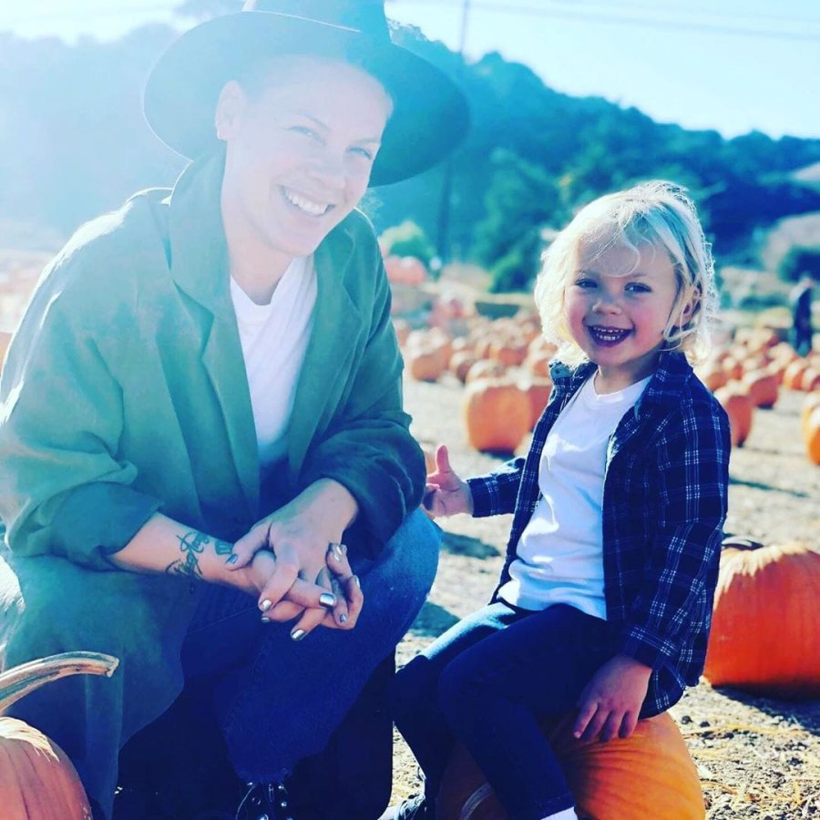 Pumpkin Patch Pink With Son Jameson