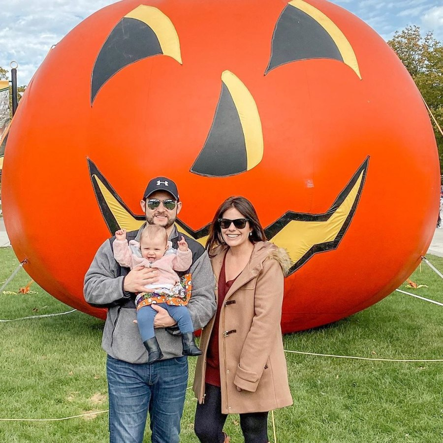 Celebrities Visit Pumpkin Patches Ashley Petta and Anthony D'Amico