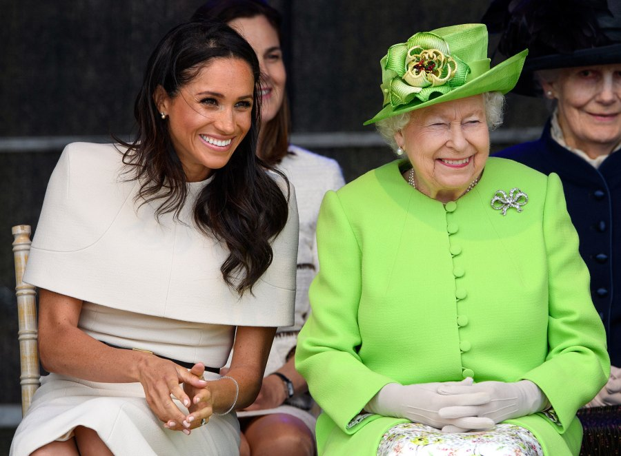 Queen Elizabeth 'Impressed' With Meghan Duchess of Sussex
