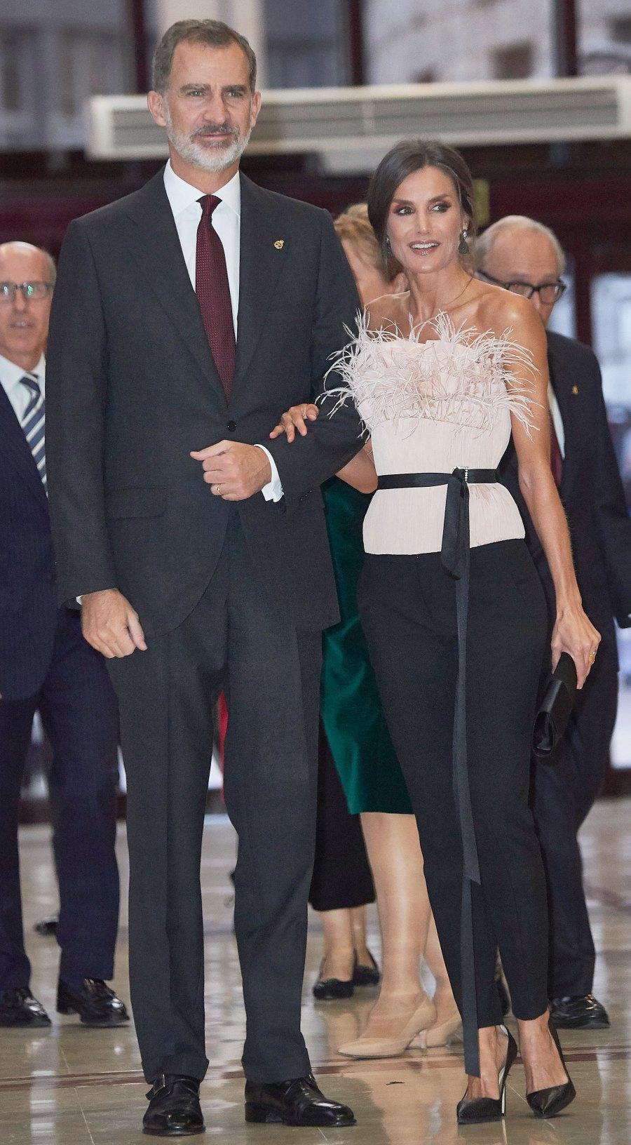 Queen Letizia Evening Wear October 17, 2019