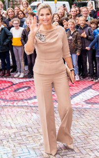 Queen Maxima Beige Ensemble October 8, 2019