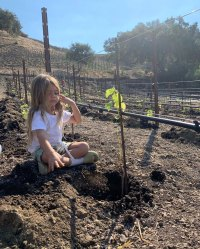 Reign Gardening Kourtney Kardashian Instagram Reign's Album