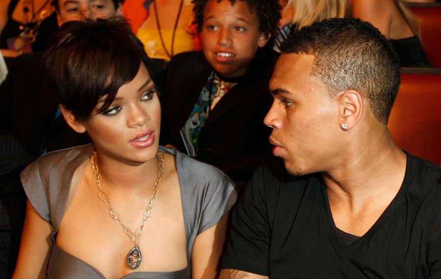 Rihanna and Chris Brown MTV Movie Awards
