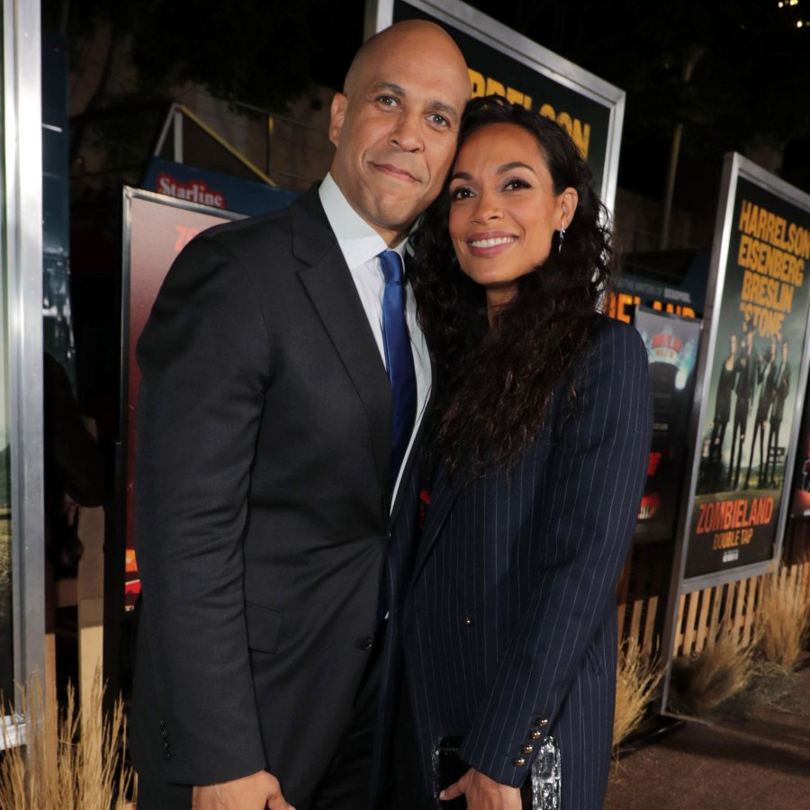 osario Dawson Says Cory Booker Sends Her 'Romantic' Poems, Songs
