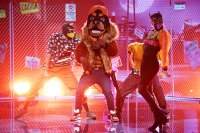 Rottweiller Masked Singer Season 2 Two Costume Dress Up Singing Onstage