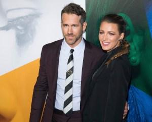 Ryan Reynolds and Pregnant Blake Lively