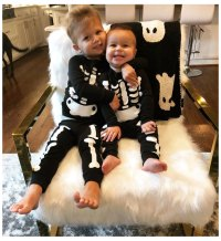 Samuel and Isaiah Lowe Celebrity Kids Rock Adorable Halloween Costumes