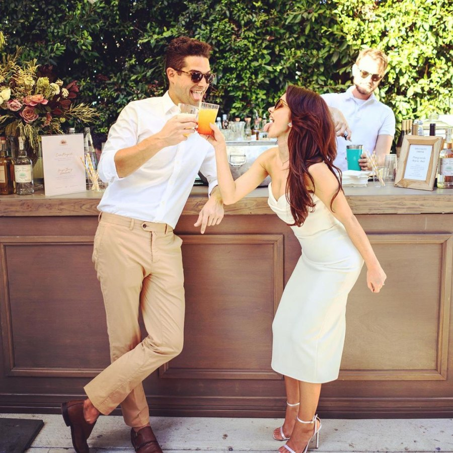 Sarah Hyland and Wells Adams Engagement Party