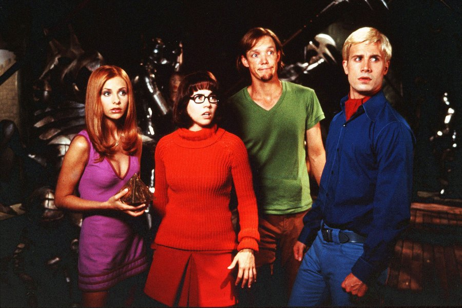 Sarah Michelle Gellar, Linda Cardellini, Matthew Lillard, Freddie Prinze Jr Scooby Doo