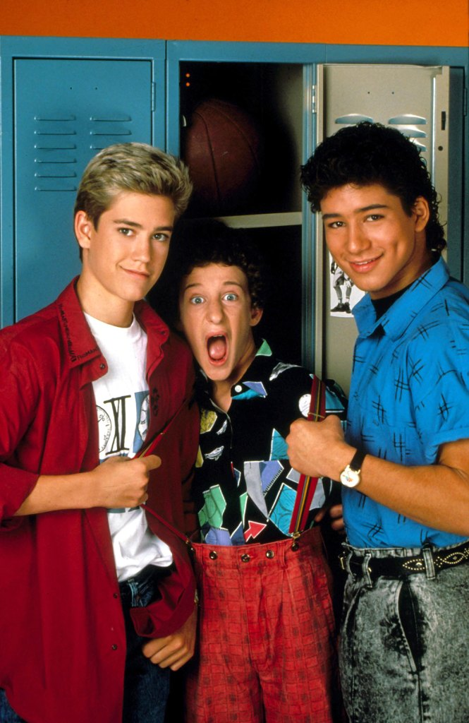 Mark Paul Gosselaar, Dustin Diamond, Mario Lopez Saved by the Bell Reboot