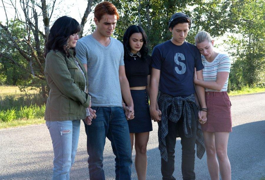 Shannen Doherty, KJ Apa, Camila Mendes, Cole Sprouse and Lili Reinhart-Riverdale-Recap