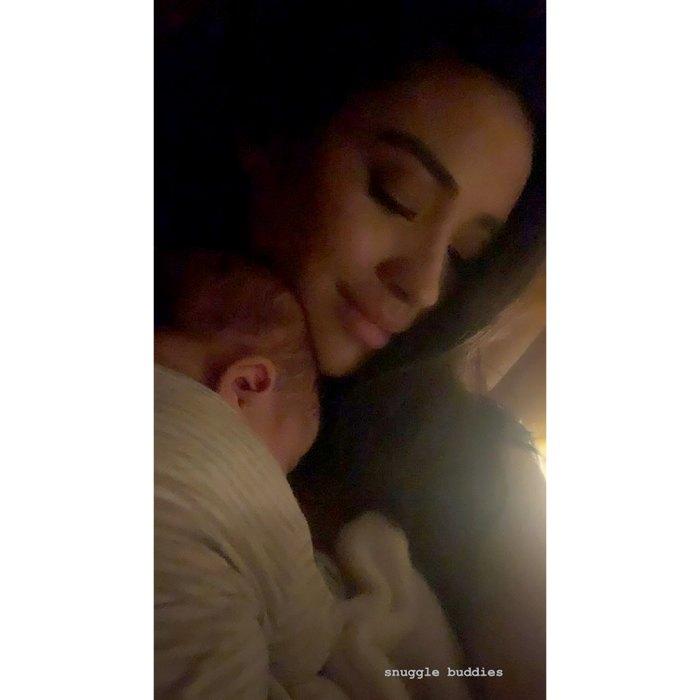 Shay-Mitchell-Cuddles-With-Newborn-Daughter