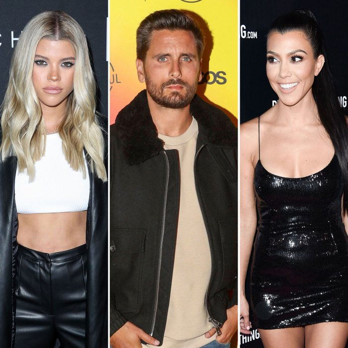 Sofia Richie Calls Out Scott Disick for Acting Differently When Kourtney Kardashian KUWTK Keeping Up With the Kardashians Recap