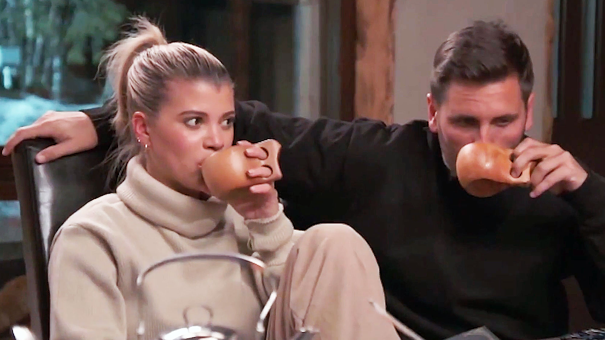 Sofia Richie Makes Awkward KUWTK Debut with Scott Disick and Kourtney Kardashian