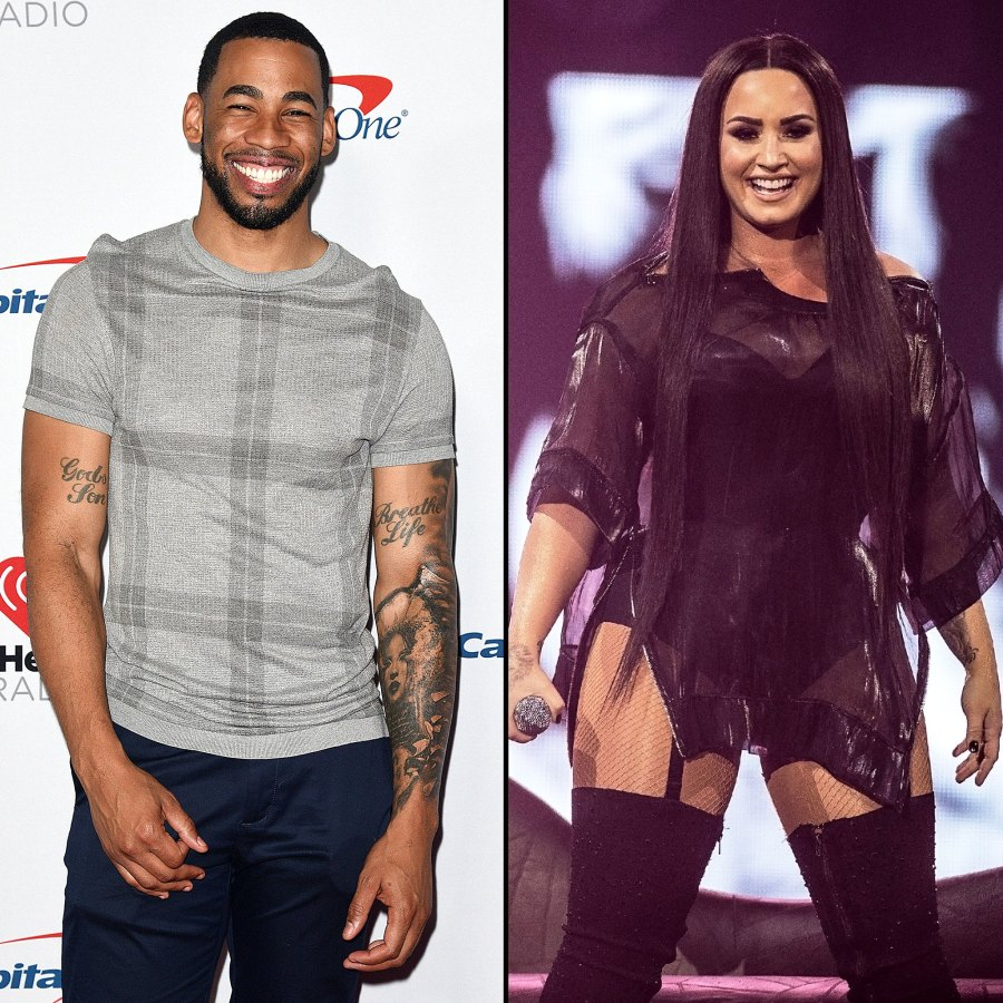 Stars Who Have Dated Bachelor Nation Mike Johnson Demi Lovato