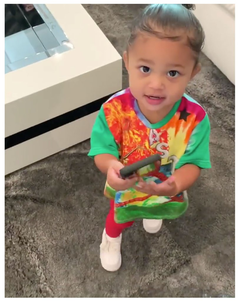 Stormi Webster Dancing To Kylie Jenner