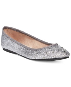 Style & Co Angelynn Flats silver