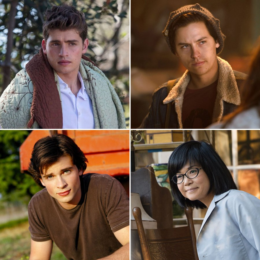 Gregg Sulkin Cole Sprouse Tom Welling Keiko Agena TV Stars Who Played High School Students Well After Graduation