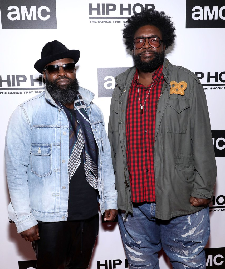 The Roots, Lil Mama and More Stars Celebrate Premiere of AMC's 'Hip Hop: The Songs That Shook America'