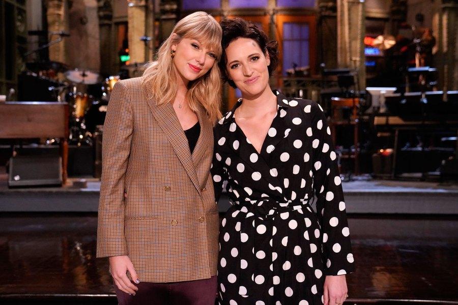 Taylor Swift and Phoebe Waller Bridge SNL 45x02 Recap