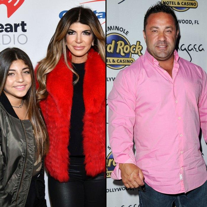 Teresa Giudice's Daughter Milania Reveals She'll See Dad Joe 'Soon'-3