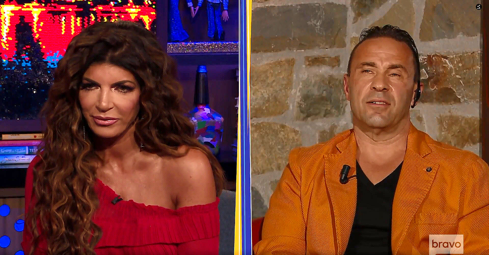 Teresa Giudice Joe Giudice Unlocked Andy Cohen One on One Bravo