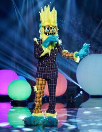 Thingamajig Masked Singer Season 2 Two Costume Dress Up Singing Onstage