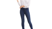 Time and Tru dark blue jegging