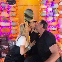 Tori Spelling and Dean McDermott Celebrity Families Visiting Pumpkin Patches