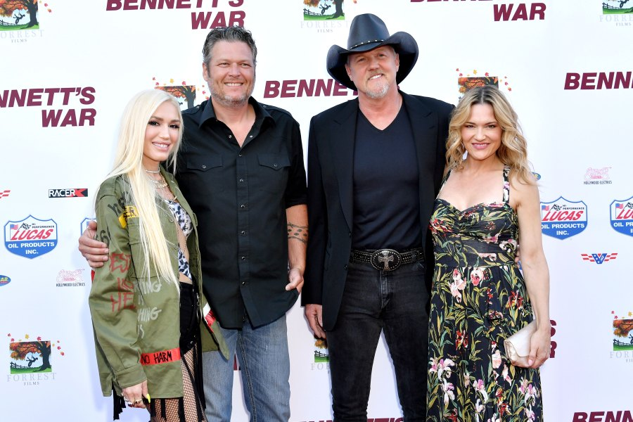 Trace Adkins Marries Victoria Pratt, Blake Shelton Officiates the Ceremony