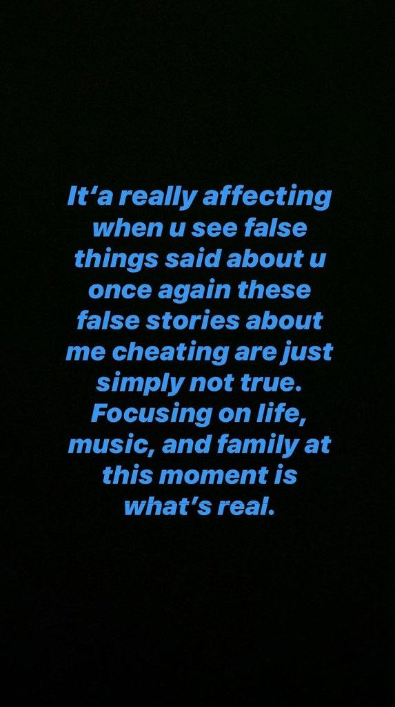 Travis Scott Instagram Story