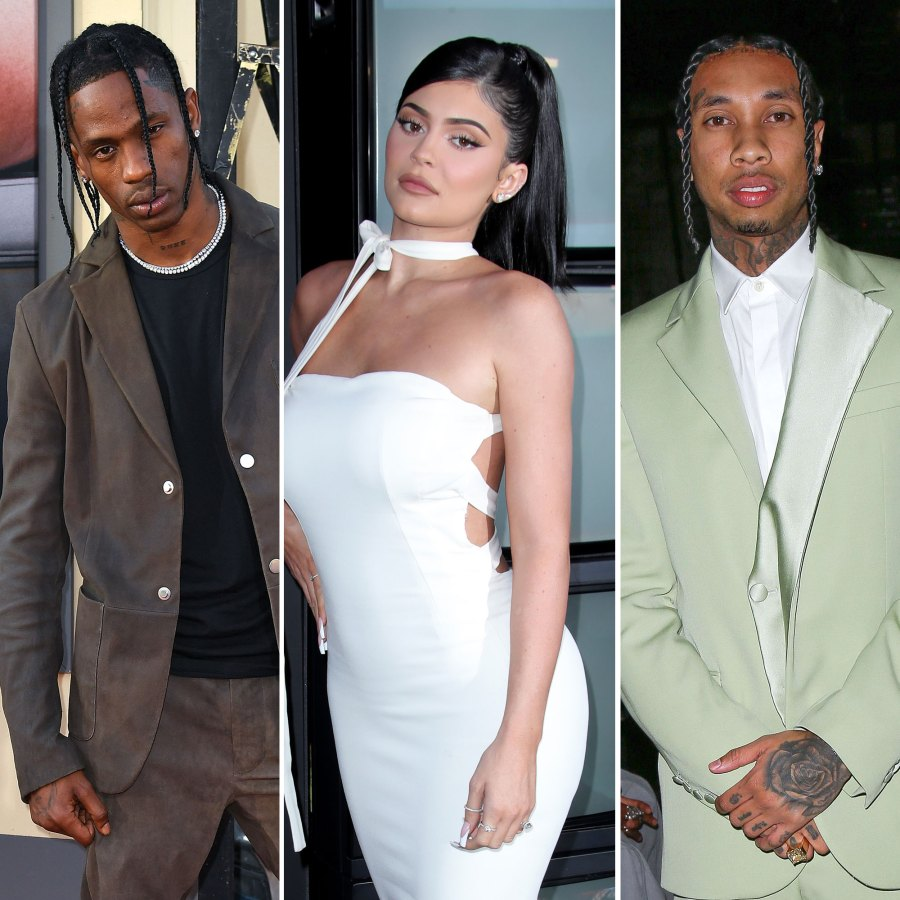 Travis Scott, Kylie Jenner, Tyga Dating