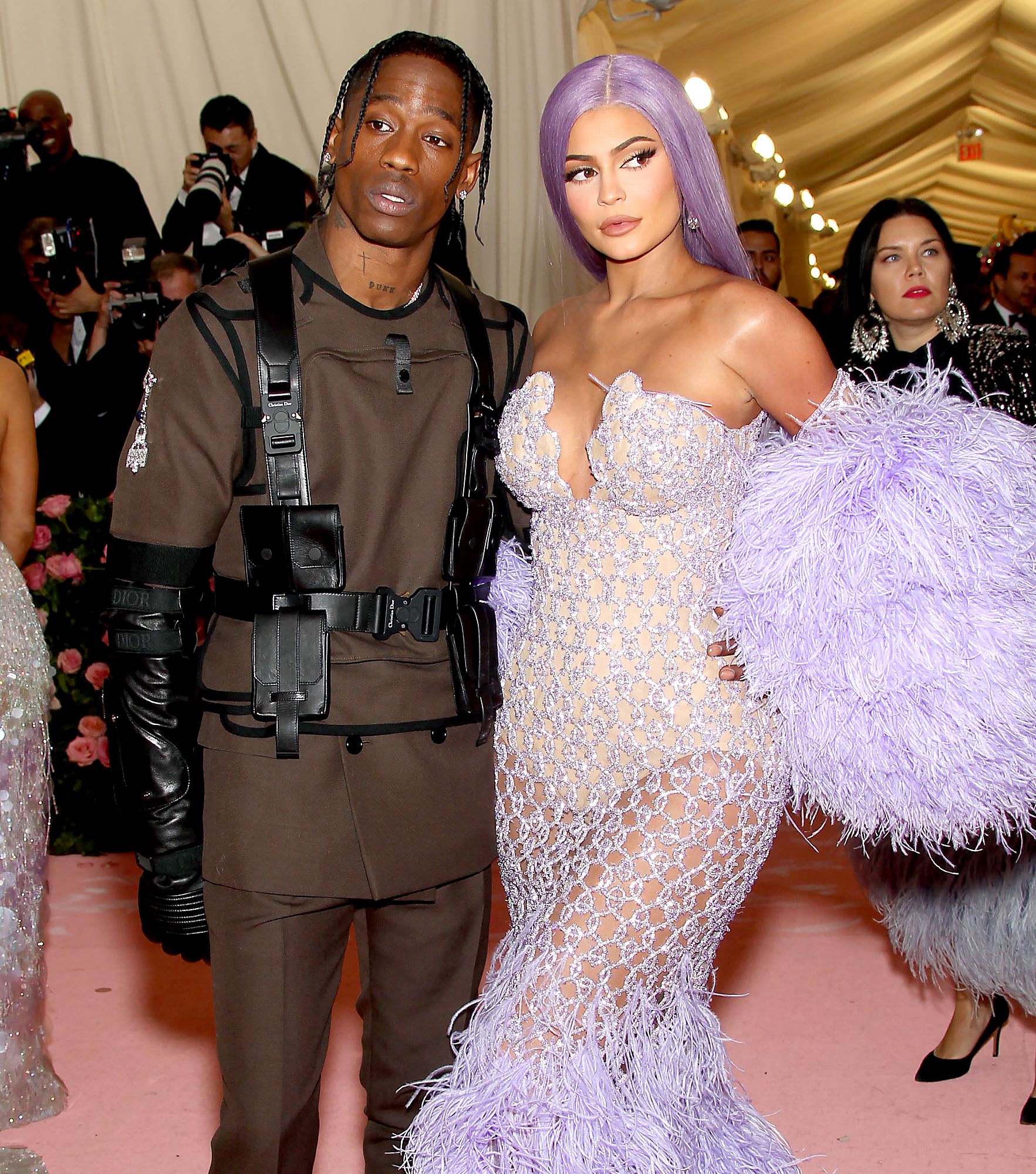 Kylie Jenner And Travis Scott Are Not Back Together They Have Two Different Lives Us Weekly Travis scott height weight body measurements shoe size age ethnicity. kylie jenner and travis scott are not