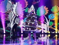 Tree Masked Singer Season 2 Two Costume Dress Up Singing Onstage