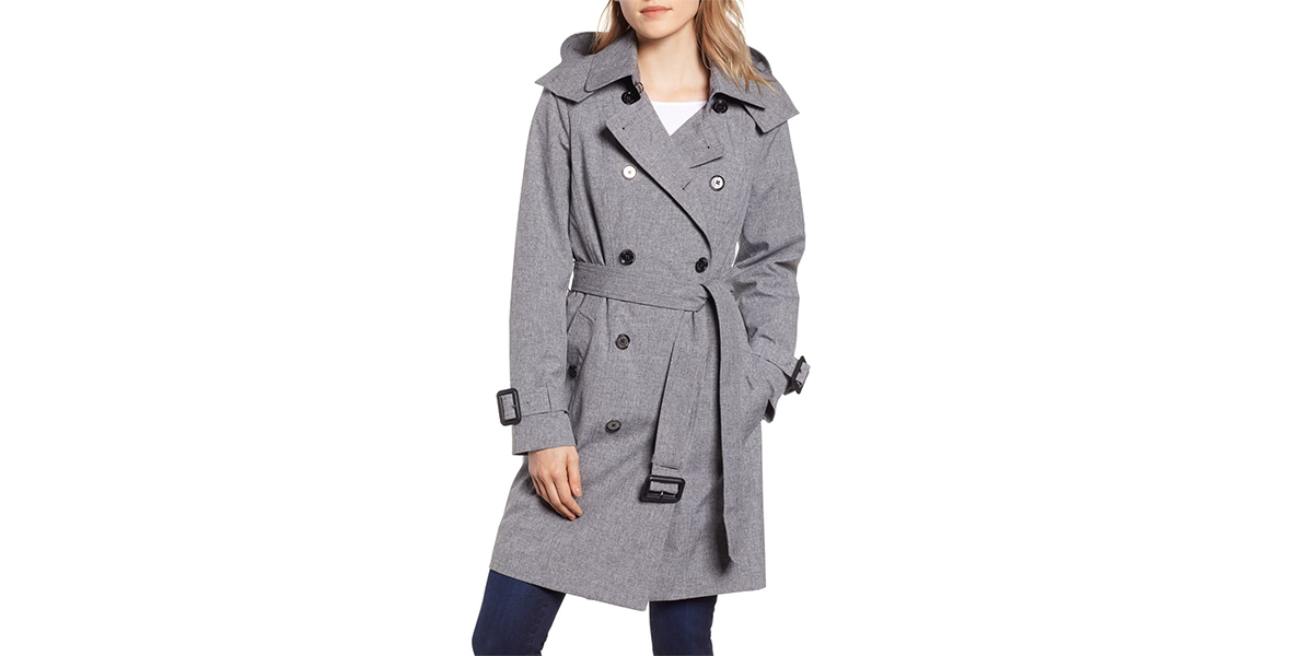 This Trench Coat Masters In-Between Style and Is 50% Off at Nordstrom!