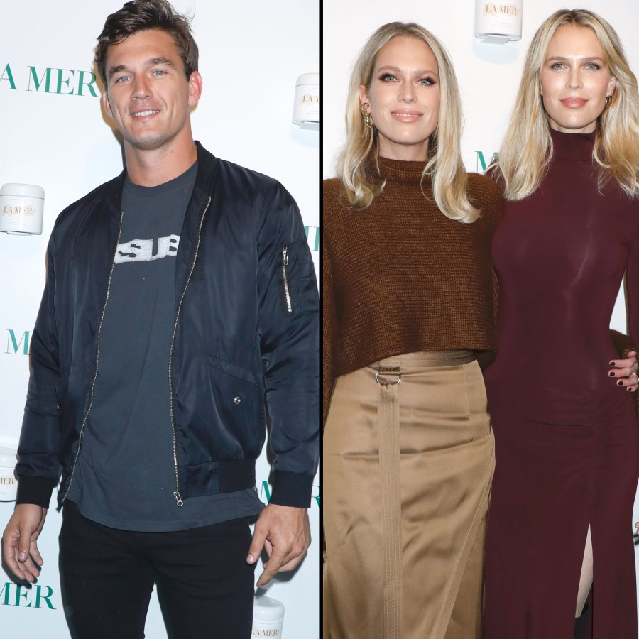 Tyler Cameron Hangs Out With Ex Gigi Hadid's Former Stepsisters Erin and Sara Foster
