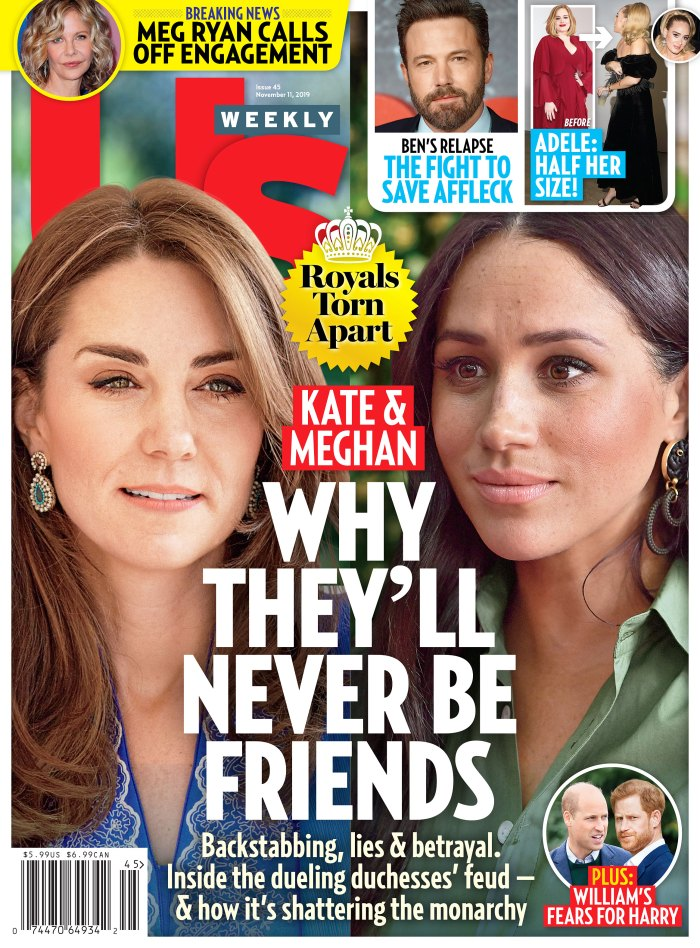 Us Weekly Cover Issue 4519 Duchess Kate and Duchess Meghan